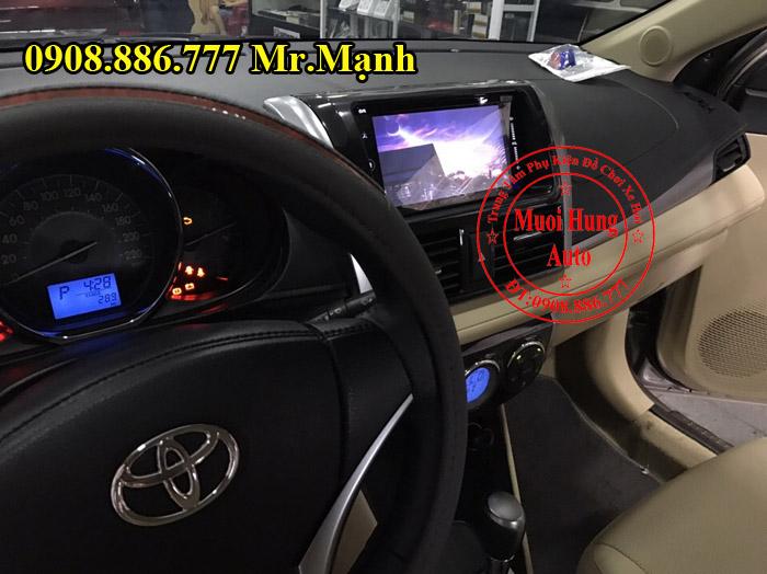 Lắp Màn Hình DVD Carrozzeria Xe Toyota Vios
