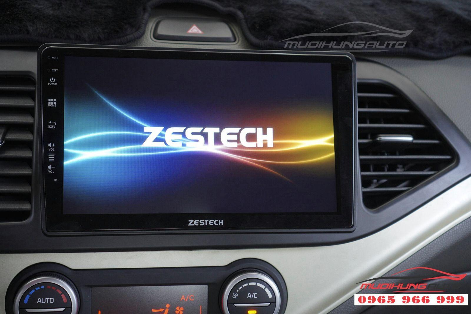 Lắp màn hình DVD Zestech Z500 cho KIA Morning 2017 04