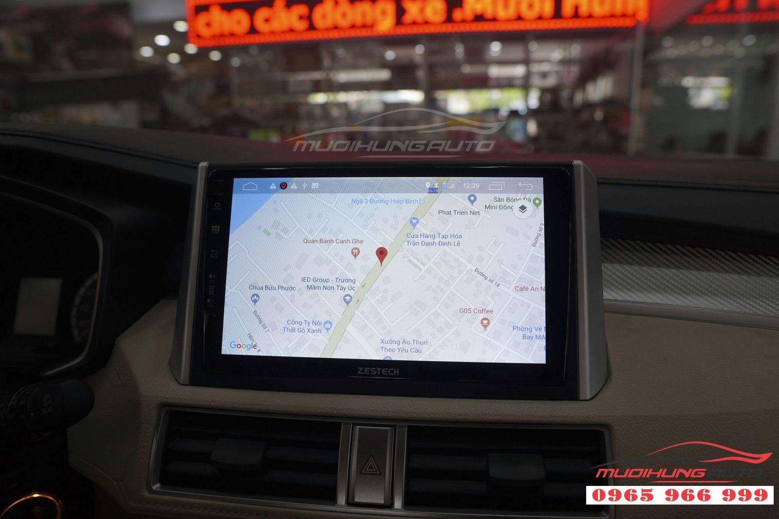Lắp màn hình DVD Zestech Z500 cho Mitsubishi Xpander  03