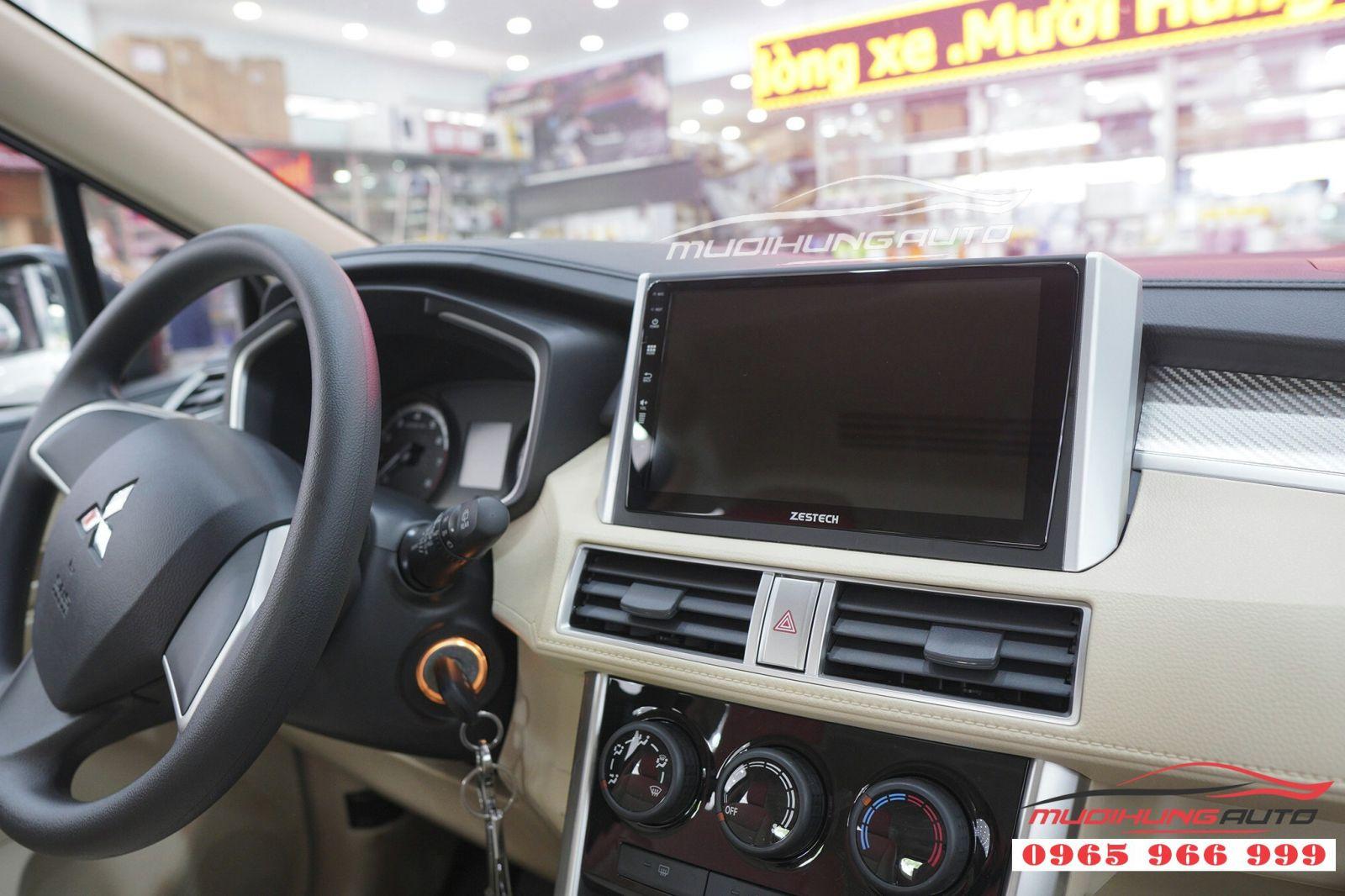 Lắp màn hình DVD Zestech Z500 cho Mitsubishi Xpander  02