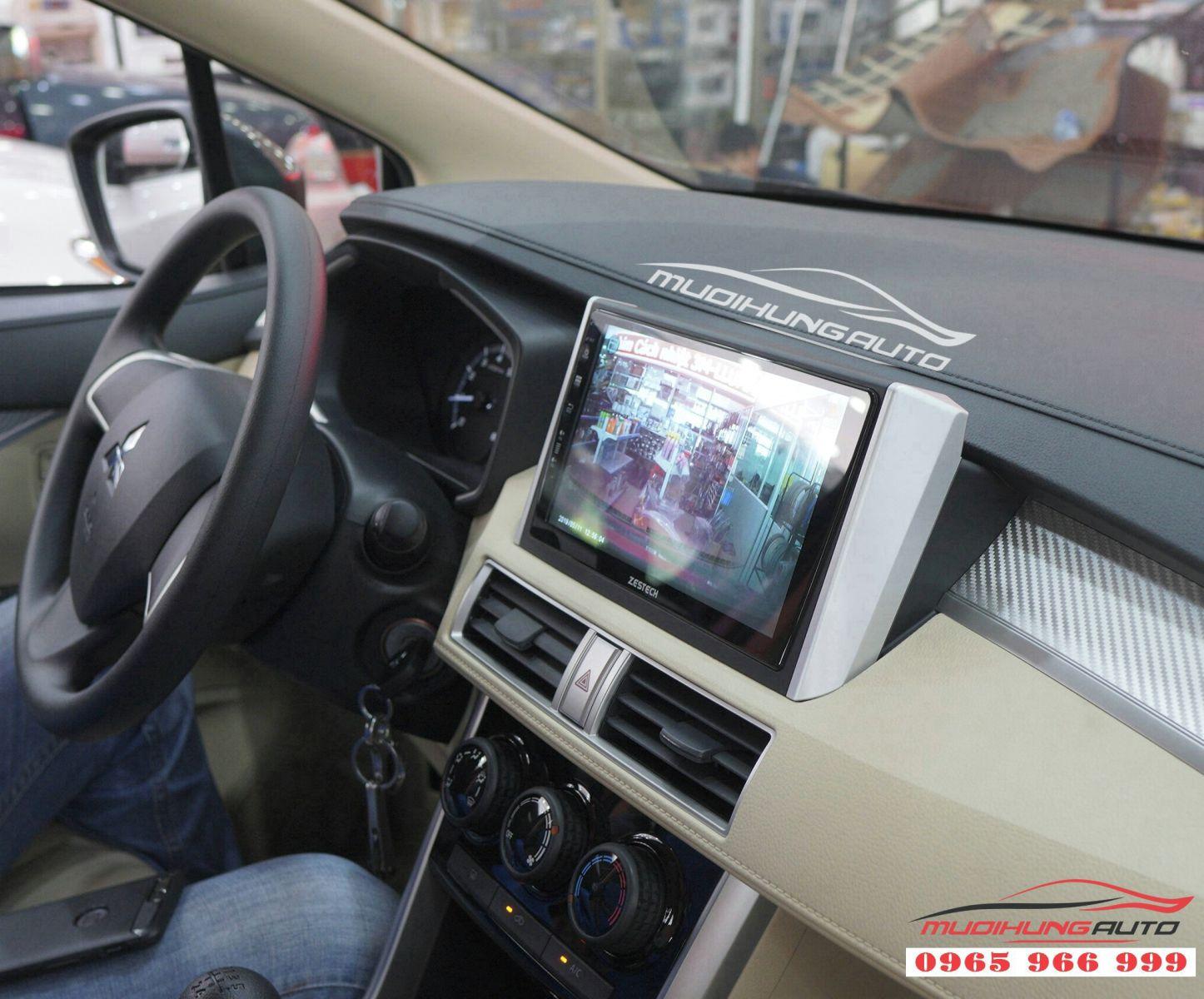 Lắp màn hình DVD Zestech Z500 cho Mitsubishi Xpander 05