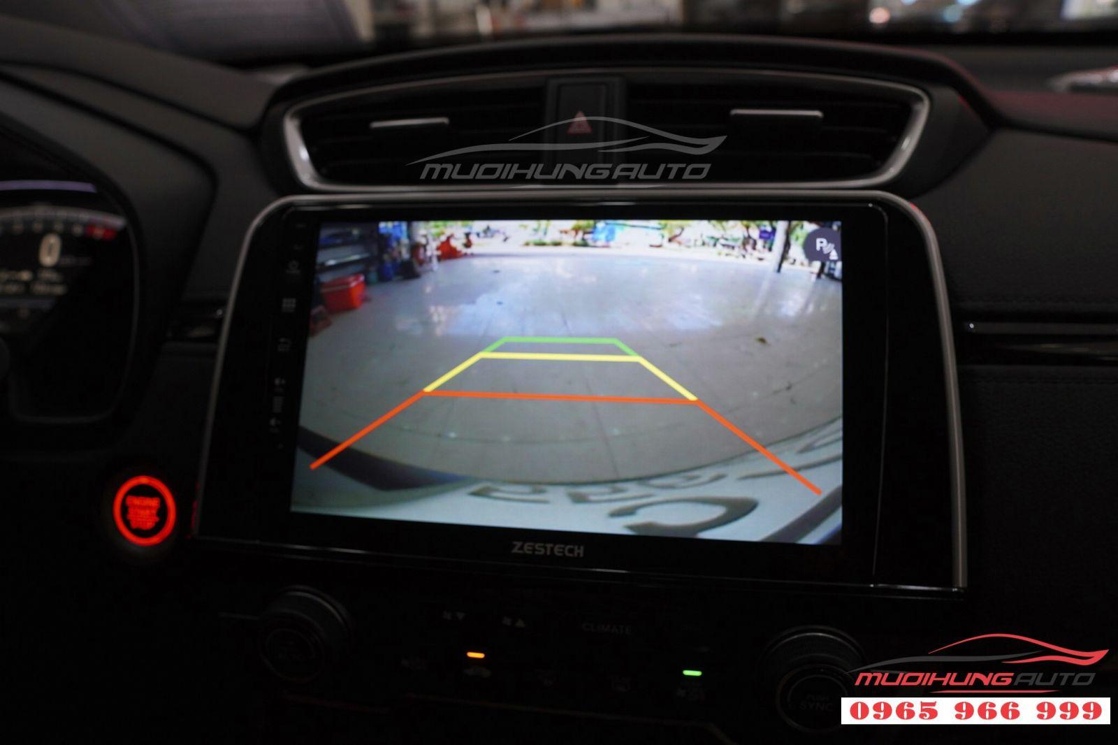 Lắp màn hình DVD Zestech Z500 cho Honda CRV 2018  02