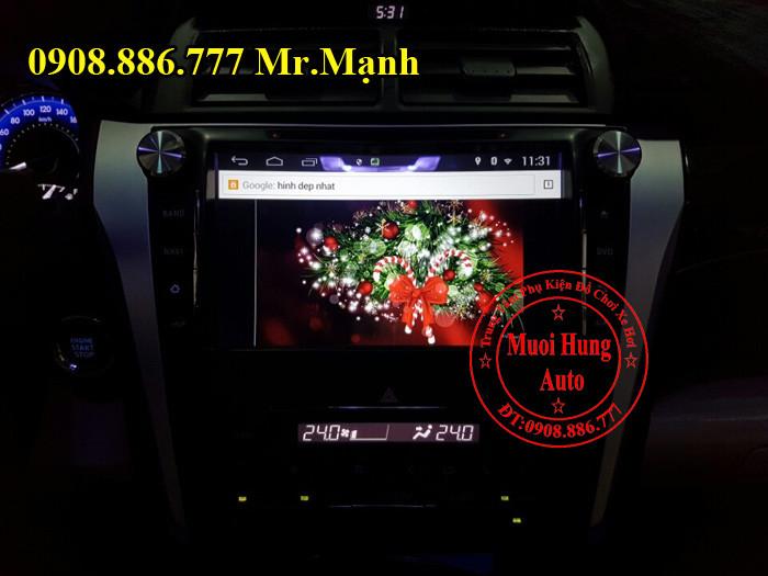 Màn Hình DVD Android Xe Camry Chính Hãng 04