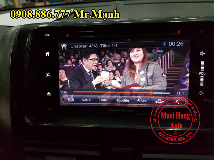 Màn Hình DVD Innovative Cho Toyota Vios 04