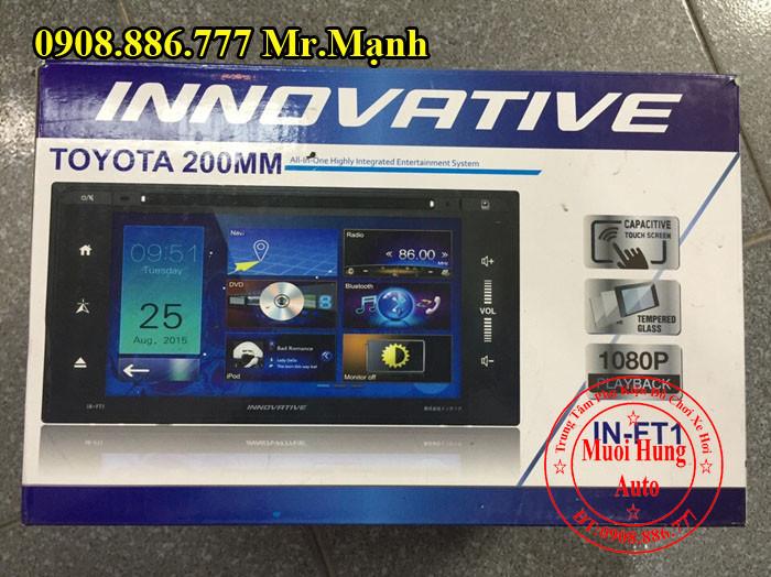 Màn Hình DVD Innovative Fortuner 2015, 2016 01