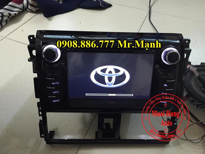 Màn Hình DVD Toyota Vios 2015, 2016 04