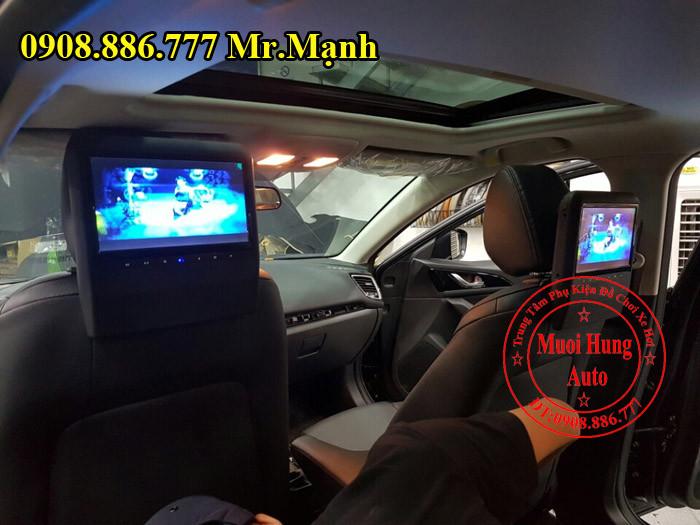Màn Hình Gối Đầu Mazda 3 Chính Hãng 02