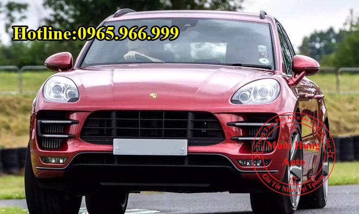 Xe Porsche Macan Lên Đời Porsche Macan Turbo 03
