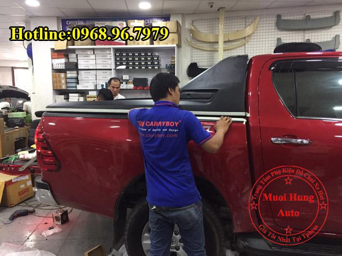 Nắp Thùng Toyota Hilux Cao Cấp Giá Rẻ