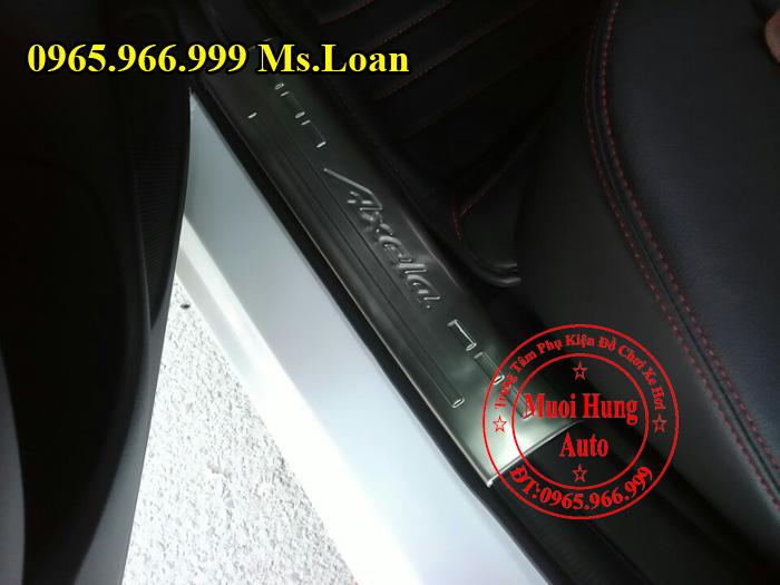 Nẹp Bước Chân, Chống Trầy Mazda 3 01