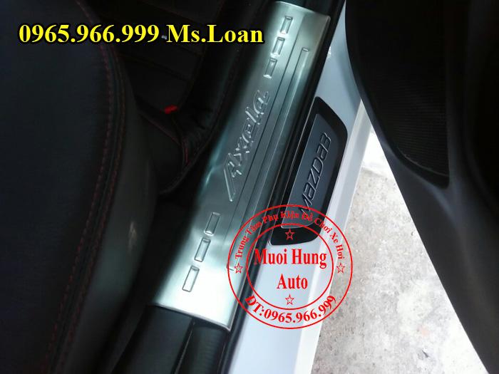 Nẹp Bước Chân, Chống Trầy Mazda 3 03