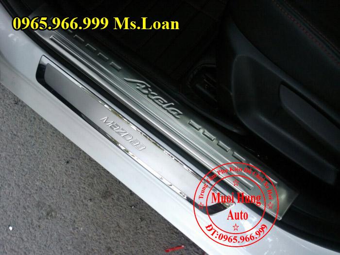 Nẹp Bước Chân, Chống Trầy Mazda 3 05