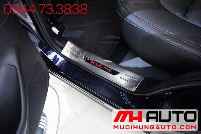 Nẹp Bước Chân Xe Mazda CX5 2018 Cao Cấp 02