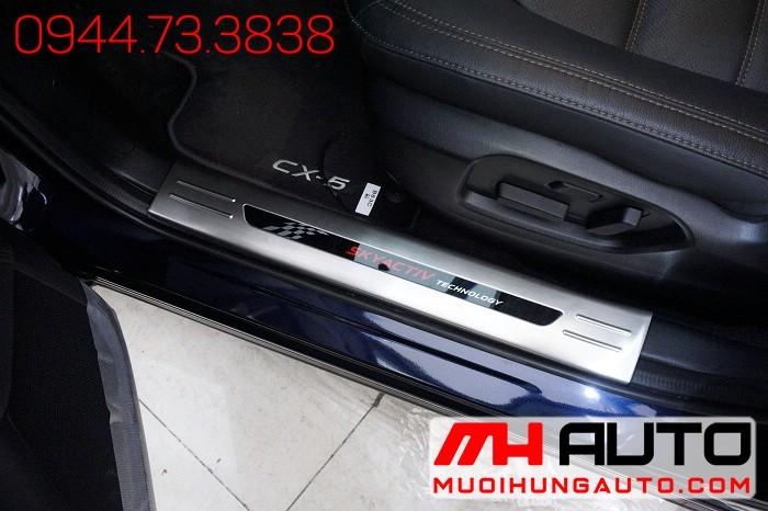 Nẹp Bước Chân Xe Mazda CX5 2018 Cao Cấp 01