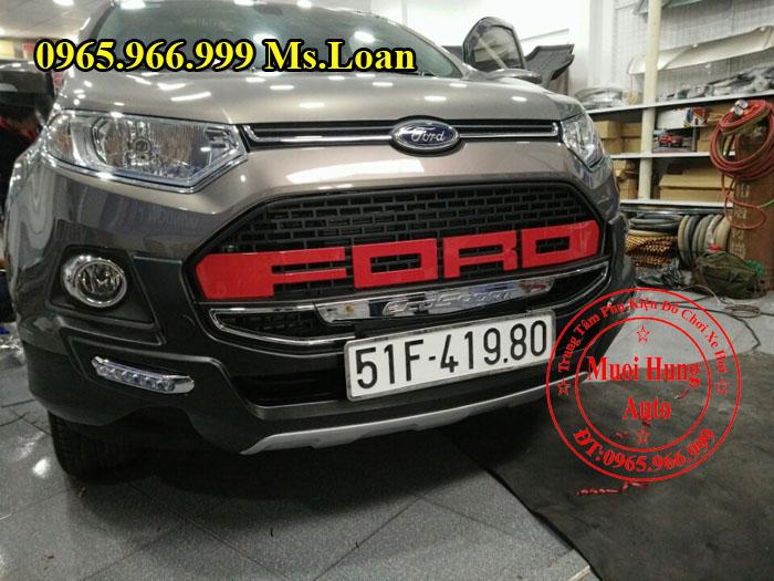 Ốp Cản Trước Sau Ford Ecosport Chính Hãng