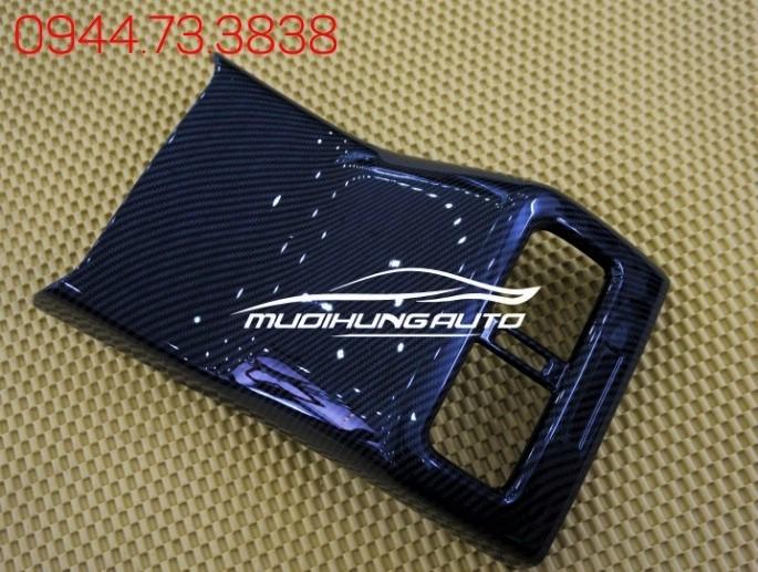 Ốp Cửa Thông Gió Sau Mazda CX5 2018 Carbon 01