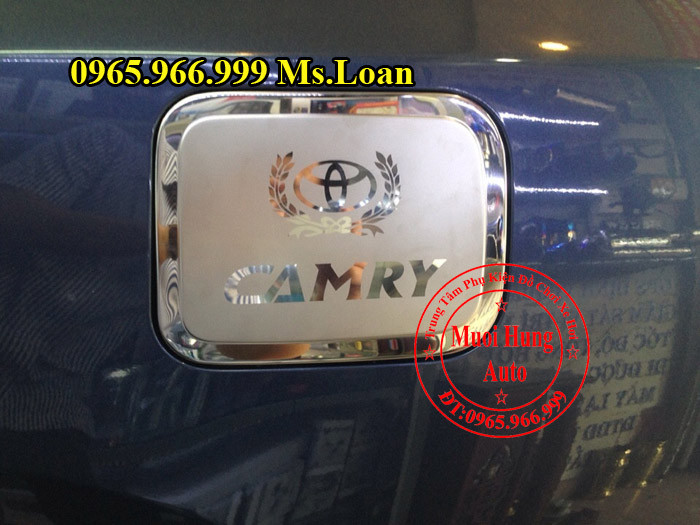 Ốp Nắp Xăng Toyota Camry 2015, 2016 01