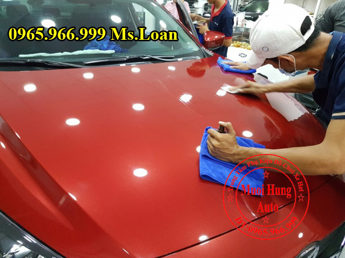 Phủ Nano Ceramic Chuyên Nghiệp Cho Mazda 3