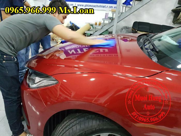 Phủ Nano Ceramic Chuyên Nghiệp Cho Mazda 3 01