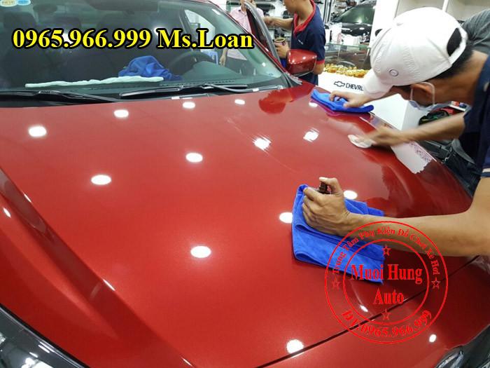 Phủ Nano Ceramic Chuyên Nghiệp Cho Mazda 3 02