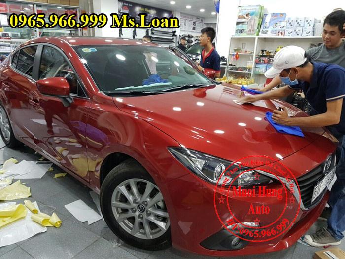 Phủ Nano Ceramic Chuyên Nghiệp Cho Mazda 3 03