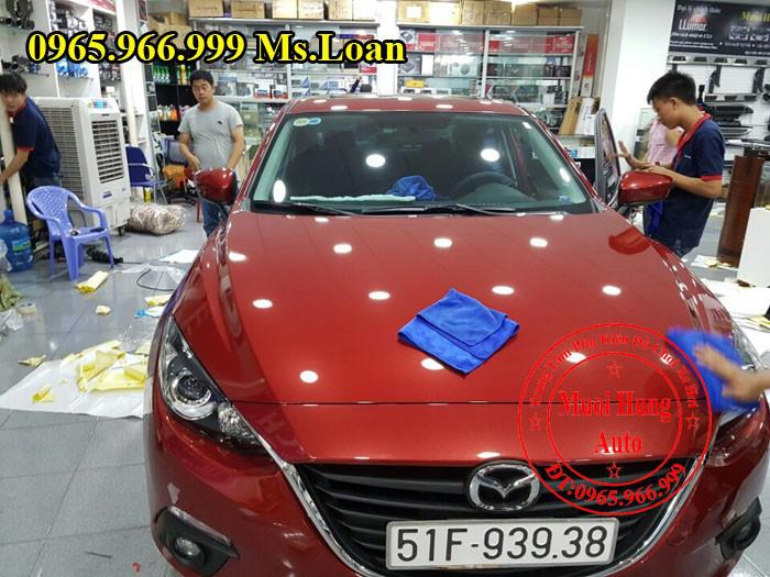 Phủ Nano Ceramic Chuyên Nghiệp Cho Mazda 3 04