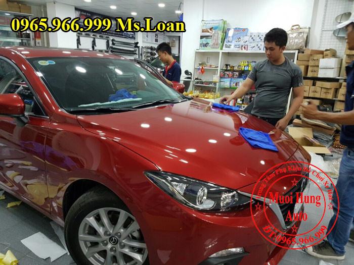 Phủ Nano Ceramic Chuyên Nghiệp Cho Mazda 3 05