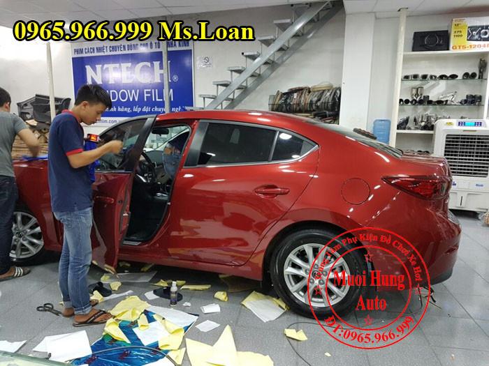 Phủ Nano Ceramic Chuyên Nghiệp Cho Mazda 3 06