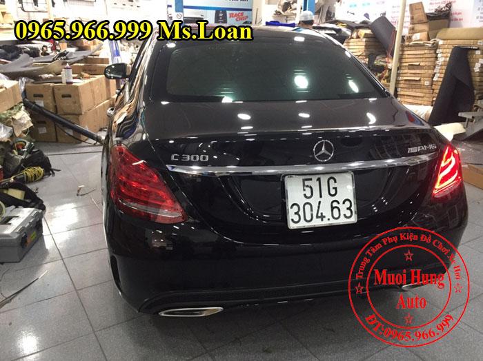 Phủ Nano Cho Xe Mercedes C300 Chất Lượng 01