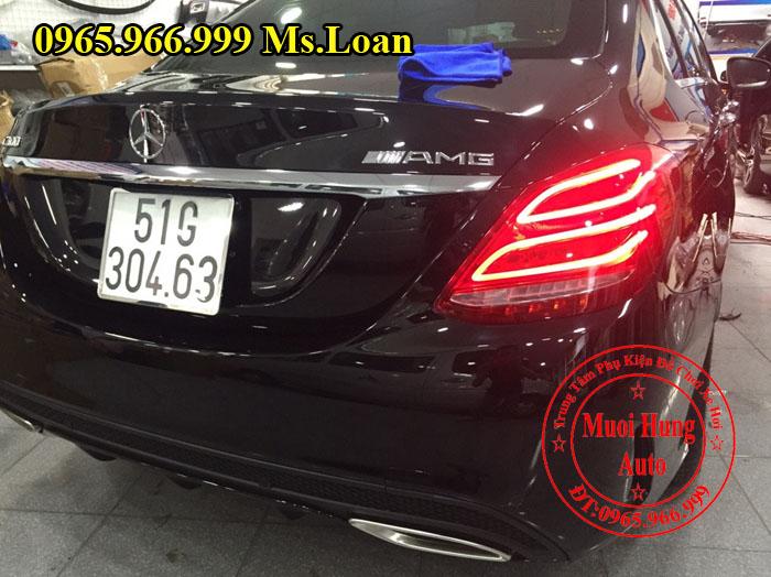 Phủ Nano Cho Xe Mercedes C300 Chất Lượng 02