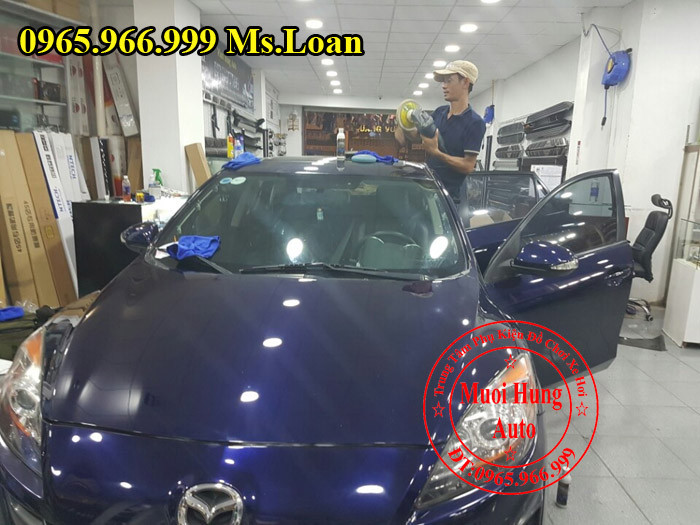 Phủ Nano Chuyên Nghiệp Cho Xe Mazda 3 03