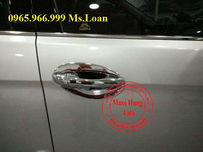 Tay Chén Cửa Hyundai Santafe Chính Hãng 02