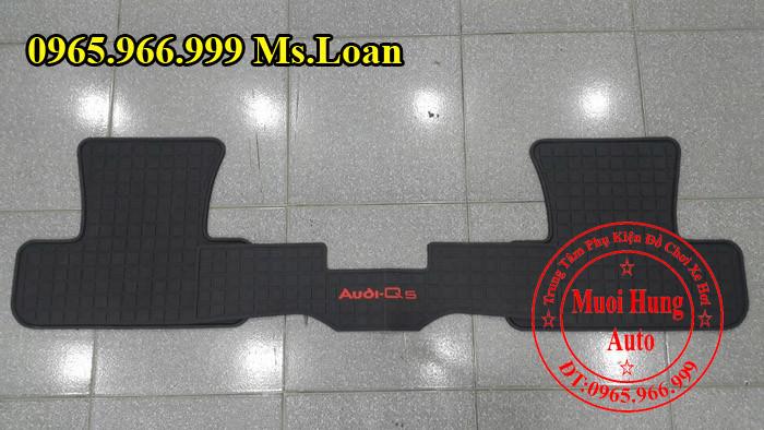 Thảm Cao Su 3D Audi Q5 Chính Hãng 01