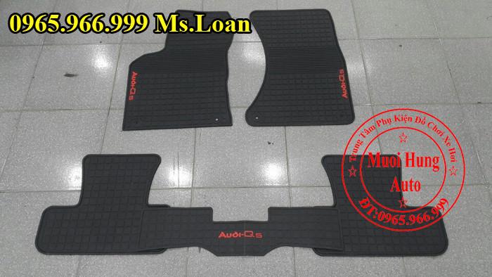 Thảm Cao Su 3D Audi Q5 Chính Hãng 02