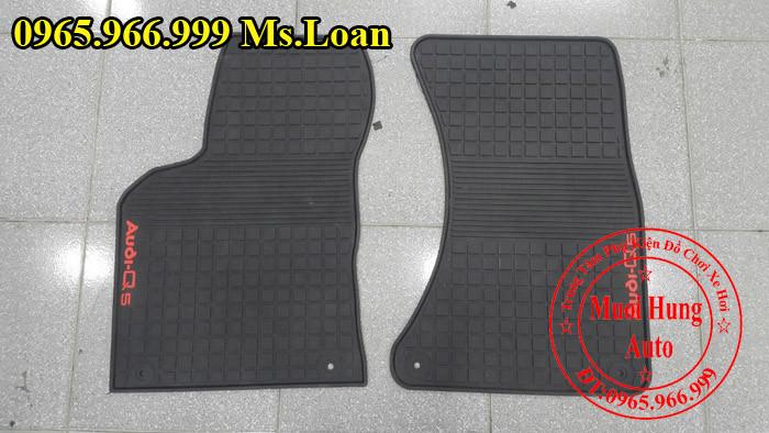 Thảm Cao Su 3D Audi Q5 Chính Hãng