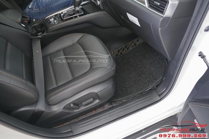 Thảm lót chân 6D dành cho Mazda CX5 cao cấp 01
