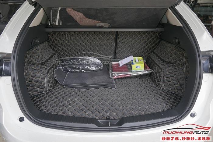 Thảm lót chân 6D dành cho Mazda CX5 cao cấp 03