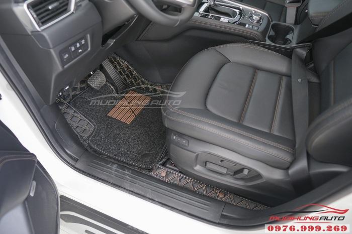 Thảm lót chân 6D dành cho Mazda CX5 cao cấp 02