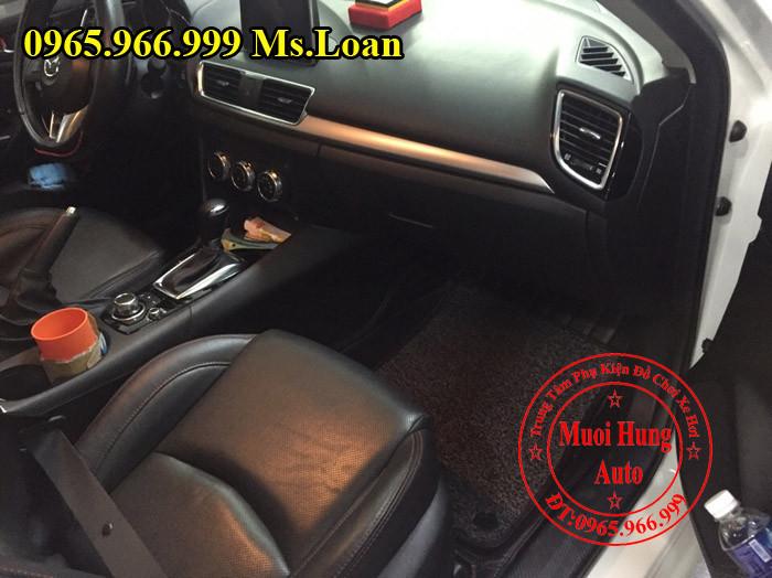 Thảm Lót Chân, Sàn 5D Zin Theo Xe Mazda 3 02