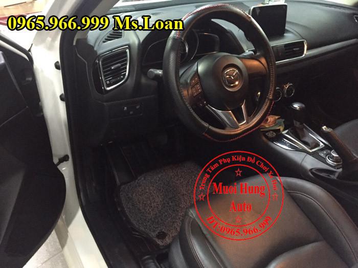 Thảm Lót Chân, Sàn 5D Zin Theo Xe Mazda 3 03