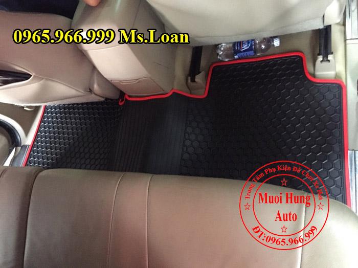 Thảm Lót Sàn 3D Toyota Fortuner 2008, 2012 02