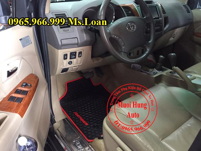 Thảm Lót Sàn 3D Toyota Fortuner 2008, 2012