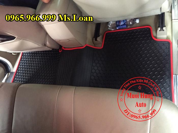 Thảm Lót Sàn 3D Toyota Fortuner 2010, 2012 02