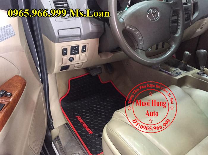 Thảm Lót Sàn 3D Toyota Fortuner 2013, 2015 01