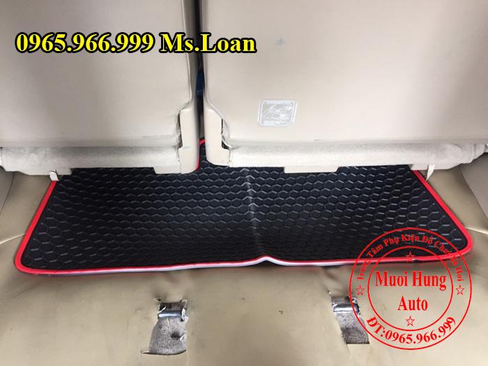 Thảm Lót Sàn 3D Toyota Fortuner 2013, 2015 03