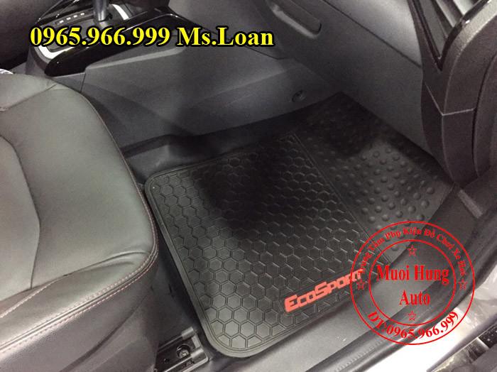 Thảm Lót Sàn 3D Zin Theo Xe Ecosport 01