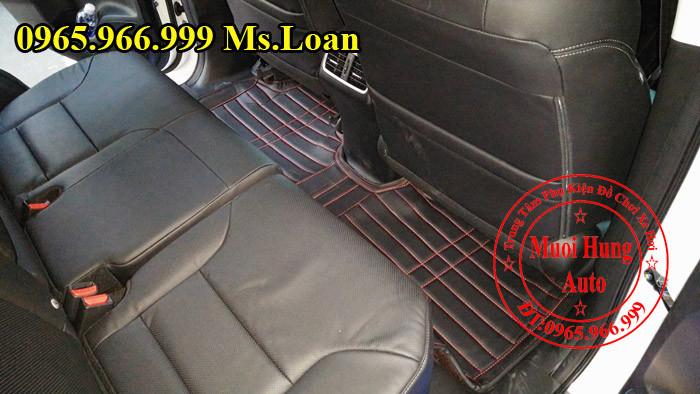 Thảm Lót Sàn 4D Honda CRV Chính Hãng 02