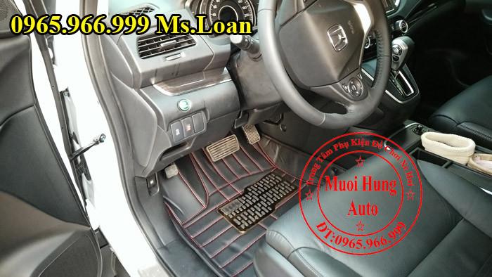 Thảm Lót Sàn 4D Honda CRV Chính Hãng