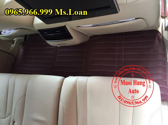 Thảm Lót Sàn 4D Lexus 570 Chính Hãng 02