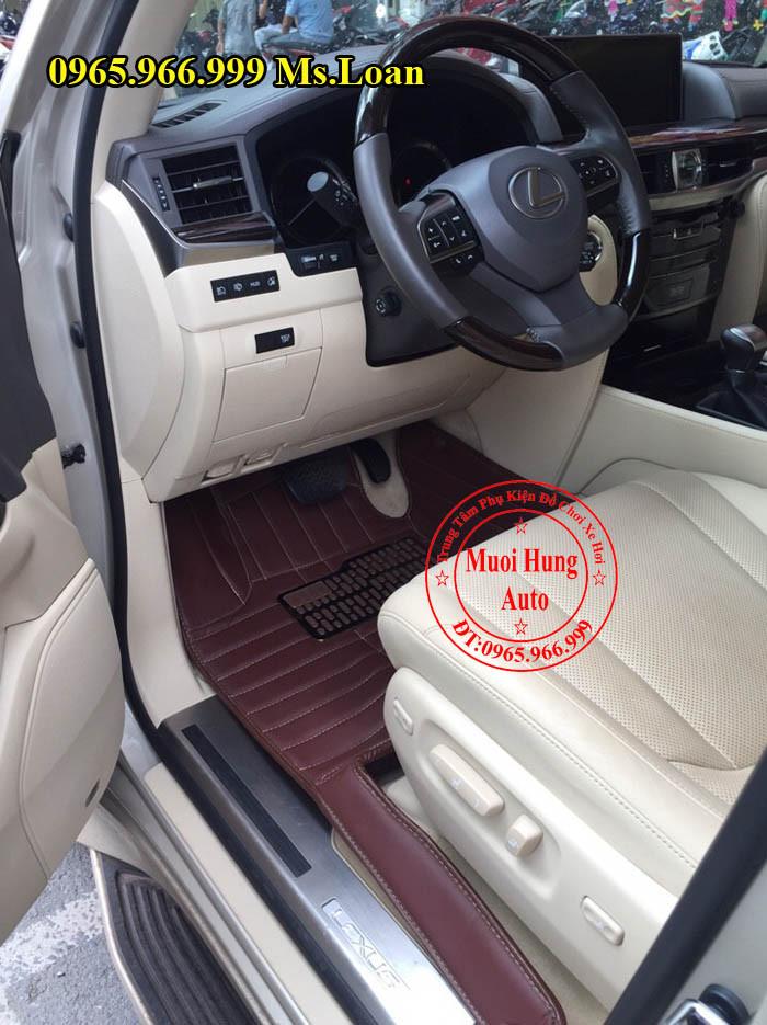 Thảm Lót Sàn 4D Lexus 570 Chính Hãng